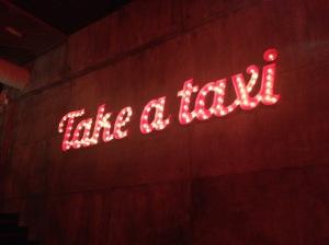 taxi a manhattan - Cuando me dejan