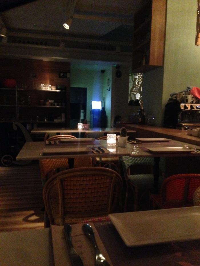 Restaurante Wanda - cuando me dejan