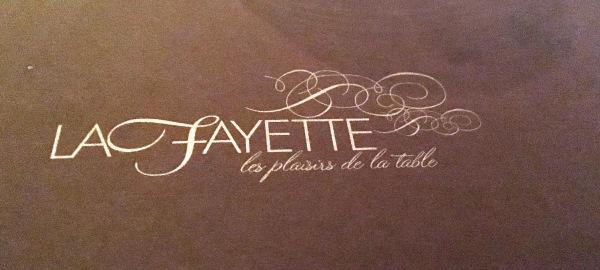 Restaurante lafayette - cuando me dejan