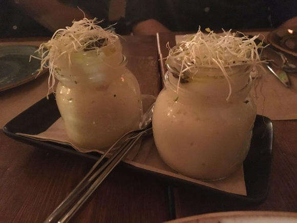 Huevos poché - Restaurante Frida - Cuando me dejan