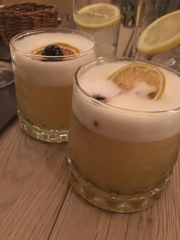 Wisky sour - Restaurante florida retiro - cuando me dejan