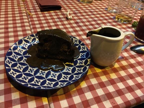 Tarta de chocolate Asador Avelino